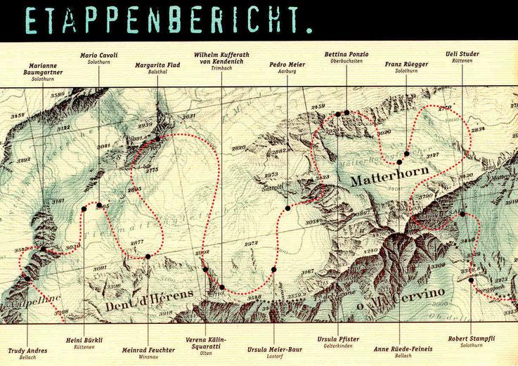 Pedro Meier Ausstellung »ETAPPENBERICHT« im Stadthaus Olten 1998 – Kunstverein Olten – Visarte-Solothurn – Archiv: Pedro Meier, Gerhard Meier Weg, Atelier: Niederbipp – Olten – Bangkok