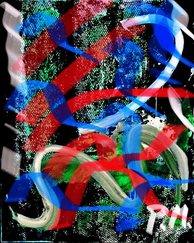 Pedro Meier – Berlin-Mitte farblich akzentuiert – aus Zyklus: Urban Art Architekturskizzen – – ArtWork by © Pedro Meier Multimedia Artist – Atelier: Gerhard Meier-Weg Niederbipp / Bangkok Thailand / Kunsthalle Olten. DADA FLUXUS VISARTE, DIGITALART SIKART