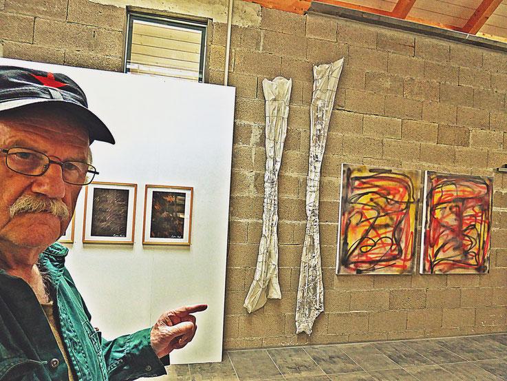 Pedro Meier – One-Man-Show Franz Eggenschwiler Stiftung – Ölbilder »Flug des Ikarus« – Wand-Skulpturen »Flügel des Ikarus« – VERNISSAGE: Samstag, 30. 9. 17:00 Uhr, 4952 Eriswil – 30. 9.–20. 10. 2017 Pedro Meier Multimedia Artist Niederbipp – Olten Bangkok