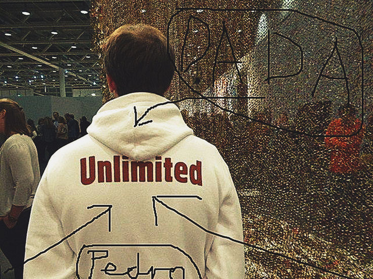 Pedro Meier DigitalArt – Unlimited – DADA ART Basel – overpainted – 2017 Artwork by © Pedro Meier Multimedia Artist MoMA – Visual Art Museum Bangkok – FLUXUS – DADA – ComputerArt – SIKART Zürich – Atelier: Niederbipp Bern, Oberaargau – Switzerland