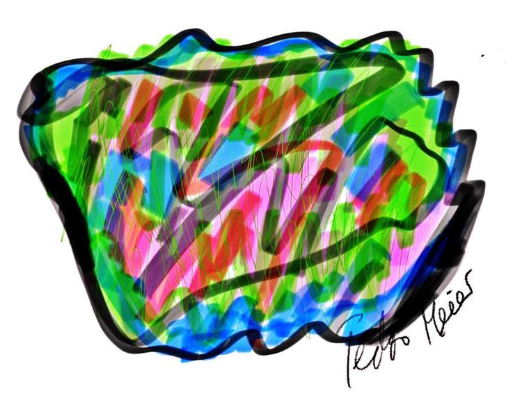 Pedro Meier – Wannsee Berlin Uferpromenade – Entwurf aus Zyklus: Urban Art Architekturskizzen. ArtWork by © Pedro Meier Multimedia Artist – Atelier: Gerhard Meier-Weg Niederbipp / Bangkok Thailand / Kunsthalle Olten. DADA FLUXUS VISARTE, DigitalArt SIKART