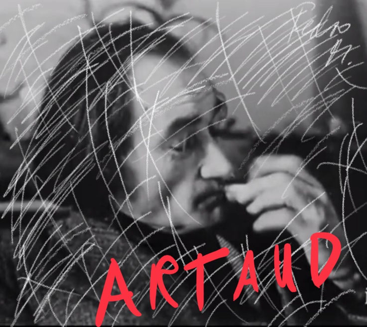 Pedro Meier – Antonin Artaud Theater Paris – Paraphrase zu Foto – Art Work by © Pedro Meier Swiss-German Multimedia Artist Visual Art Museum MoMA – FLUXUS – DADA – DigitalArt – ComputerArt – MailArt – Artists' Books – SelfieArt – SIKART Zürich, EUROPE