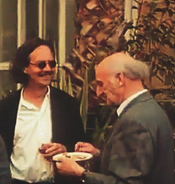 Peter Handke – Gerhard Meier – Petrarca-Preis Verleihung Weimar 1994 – Archiv Pedro Meier Multimedia  Artist Visual Art Museum – SIKART Zürich – Atelier: Gerhard Meier Weg Niederbipp alias Amrain Bern bei Solothurn – Oberaargau – Schweiz