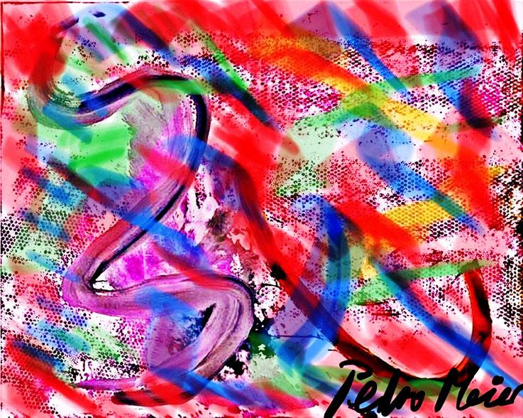 Pedro Meier – Spreeufer Berlin – Entwurf – aus Zyklus: Urban Art Architekturskizzen – ArtWork by © Pedro Meier Multimedia Artist – Atelier: Gerhard Meier-Weg Niederbipp / Bangkok Thailand / Kunsthalle Olten. DADA FLUXUS – VISARTE, DIGITALART SIKART Zürich