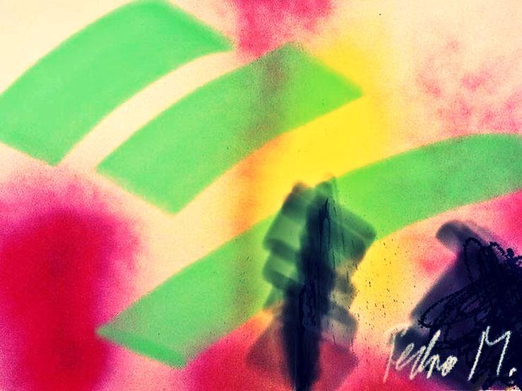 Pedro Meier – Futuristische Farbkomposition – DigitalArt 2018 – Atelier: Gerhard Meier-Weg Niederbipp Bern / Solothurn  / Bangkok Thailand / Olten Kunsthalle – Visual Art Museum – Multimedia Artist – DiaryArt MailArt PhotoArt – FLUXUS DADA VISARTE SIKART