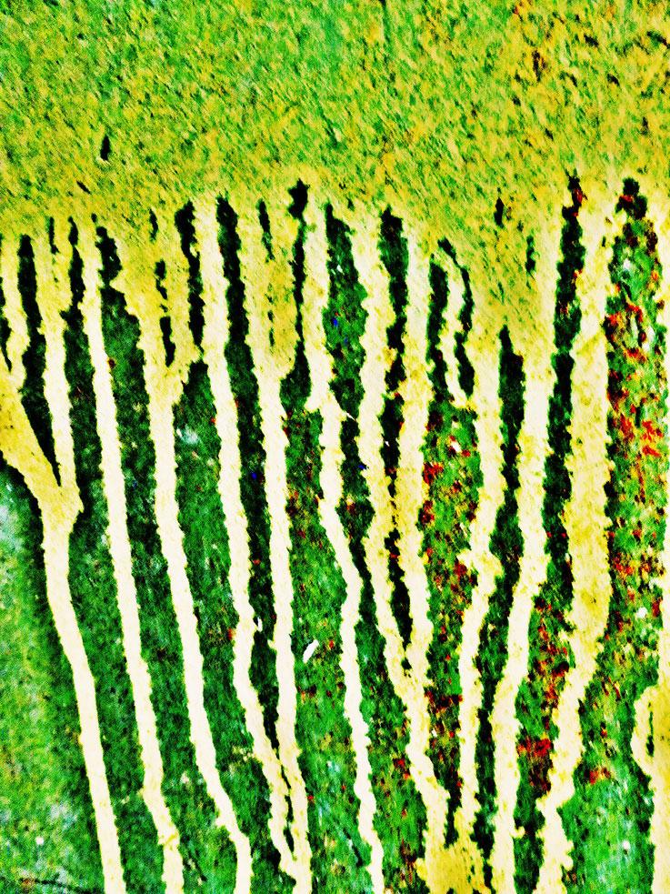 Pedro Meier – Mauerzeichen – Mural paintings Nr. 17 – Fabrikruine – Wasteland Factory ArtCampus Attisholz Solothurn– 2016 © Pedro Meier Multimedia Artist/ProLitteris Zürich – Visarte Bangkok Art-Group. Gerhard Meier-Weg Niederbipp Bern Oberaargau Graffiti