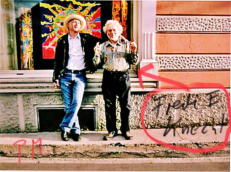 Pedro Meier – Fred Engelbert Knecht 1982 Galerie 16A - 16b Ausstellungstrasse 16, 8005 Zürich – beim Carparkplatz Sihlquai, HB Zürich – Visarte – SIKART – Kunst Zürich Art. Archiv Pedro Meier Multimedia Artist, Bangkok BACC – Niederbipp & Kunsthalle Olten