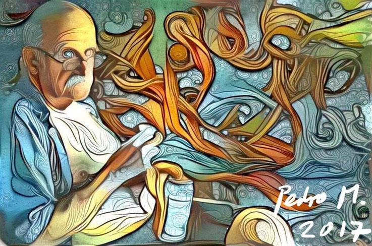 Pedro Meier – Gothic-DigitalArt by Luis Cesar Herrera Mexico City – 2017 – Pedro Meier Multimedia Artist Atelier Gerhard Meier-Weg Niederbipp und Bangkok Golf von Thailand – FLUXUS DADA, PhotoArt, DiaryArt, Kunsthalle Olten, Visarte, SIKART Zürich ArtWalk