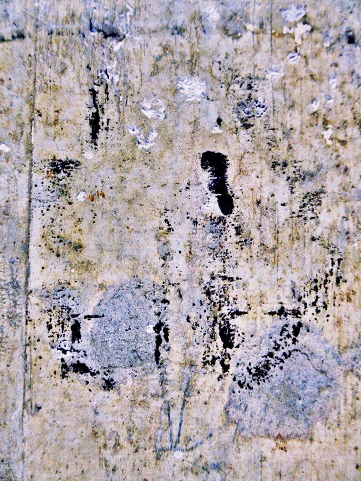 Pedro Meier – Mauerzeichen – Mural paintings Nr. 15 – Fabrikruine – Wasteland Factory ArtCampus Attisholz Solothurn– 2016 © Pedro Meier Multimedia Artist/ProLitteris Zürich – Visarte Bangkok Art-Group. Gerhard Meier-Weg Niederbipp Bern Oberaargau Graffiti