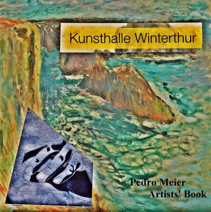 Pedro Meier – Artists' Book »Kunsthalle Winterthur«. Art Work by © Pedro Meier Swiss-German Multimedia Artist Visual Art Museum MoMA – FLUXUS – DADA – DigitalArt – ComputerArt – MailArt – Art & Language – Ready-made – Objet trouvé – Collage. SIKART Zürich
