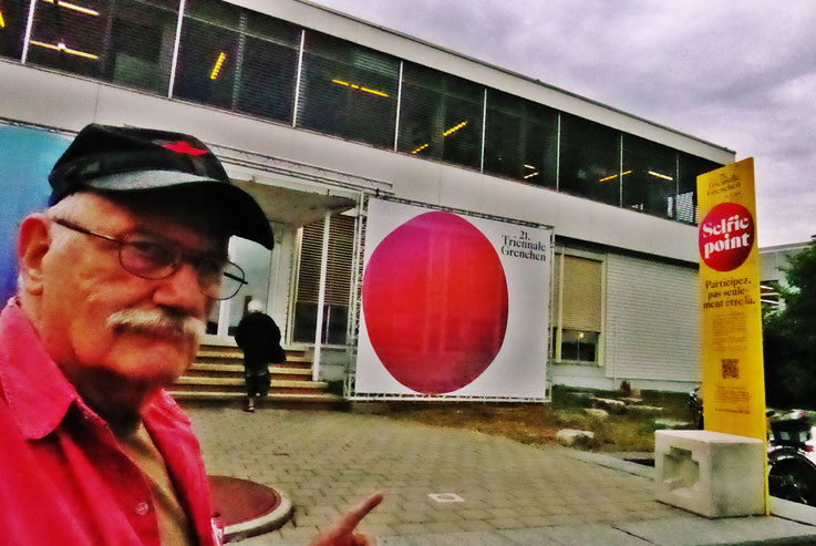 Pedro Meier Multimedia Artist mit »Selfie-Art-Project« Teilnahme an 21.Triennale Grenchen 2018, siehe Katalog Abb./Doku S.52 – Kunsthaus Grenchen Parallelausstellung – Atelier: Niederbipp / Bangkok / Kunsthalle Olten Offspace – FLUXUS DADA – SIKART Zürich