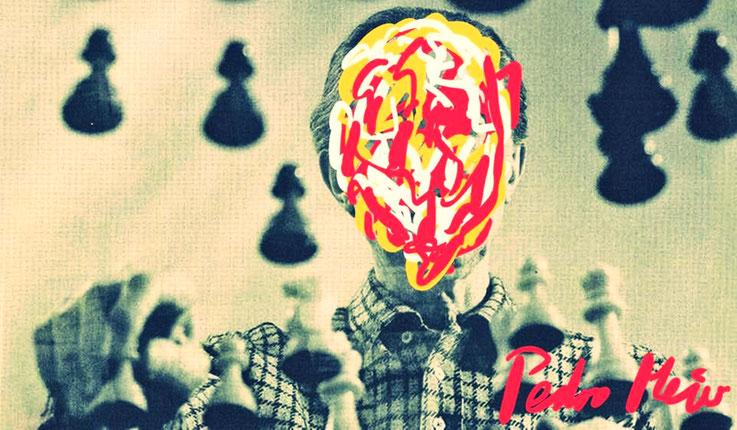 Pedro Meier – Marcel Duchamp Schachspiel – DigitalArt Intervention Paraphrase by © Pedro Meier Multimedia Artist – Kunsthalle Olten Offspace – Atelier Gerhard Meier-Weg Niederbipp und Bangkok Thailand, MoMA – PhotoArt DADA FLUXUS VISARTE, SIKART Zürich