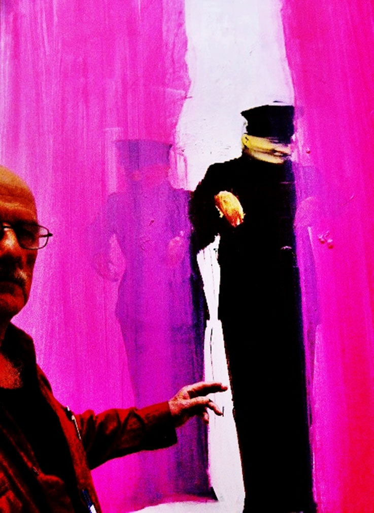 Pedro Meier PhotoArt »Chinese Whispers« Kunstmuseum Bern – Zentrum Paul Klee Switzerland – »Selfie-Art-Project« – Photo 2016 © Pedro Meier Multimedia Artist / ProLitteris – Niederbipp – Bangkok