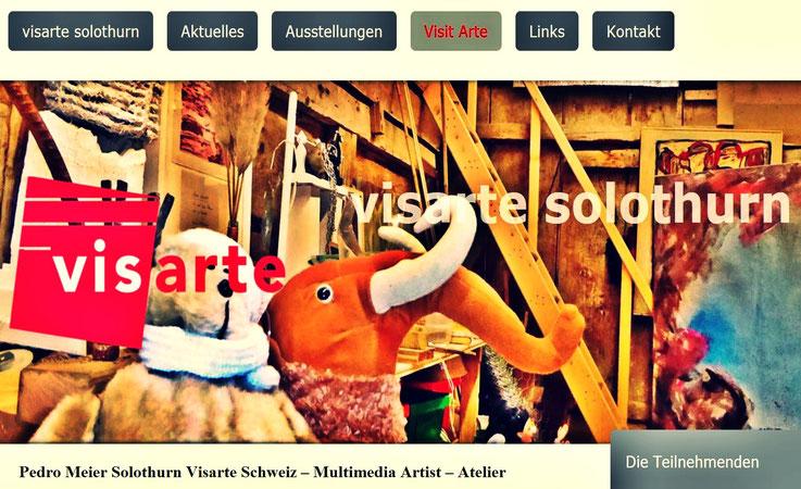 Pedro Meier Solothurn Visarte Schweiz. Multimedia Artist Ateliers: Kunsthalle Olten, Niederbipp Gerhard Meier-Weg, Bangkok BACC Thailand. Künstlerlexikon SIKART Zürich. ProLitteris. Lyriker, Maler, Schriftsteller - www.autorenwelt.de/person/pedro-meier