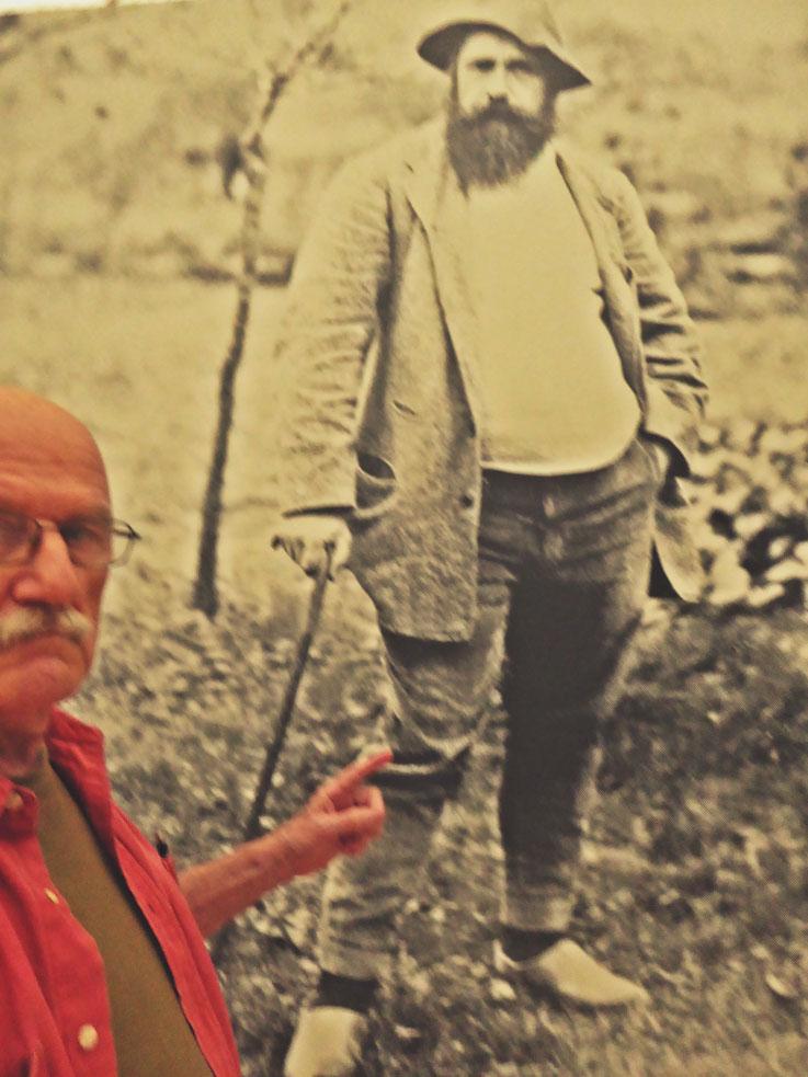 Pedro Meier PhotoArt – trifft auf Claude Monet Fondation Beyeler Basel – Switzerland – »Selfie-Art-Project« – Photo 2016 © Pedro Meier Multimedia Artist / ProLitteris – Niederbipp – Bangkok