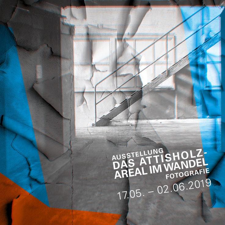 Pedro Meier FotoArt – Das Attisholz-Areal im Wandel – Gruppenausstellung Campus Attisholz. Vernissage, 17. Mai 2019 um 18.00, Säulenhalle – 17. Mai–02. Juni 2019. Pedro Meier Ateliers: Niederbipp; Kunsthalle Olten Offspace. Bangkok BACC, SIKART Zürich
