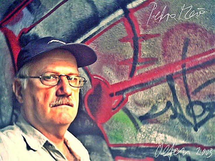 Pedro Meier – Trimbacherbrücke Olten Graffiti – PhotoArt by © Pedro Meier Multimedia Artist – »Selfie-Art-Project« 2003 – Atelier Gerhard Meier-Weg Niederbipp und Bangkok Thailand Kunsthalle Olten Offspace. DADA FLUXUS MailArt DigitalArt VISARTE SIKART ZH
