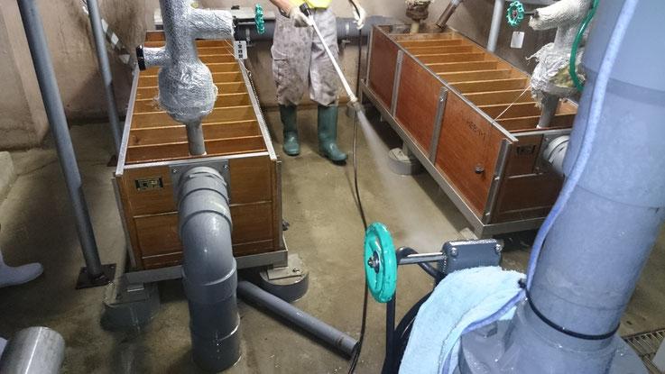 設備・機械室 清掃