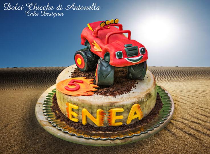 Torta Blaze-cake blaze- compleanno-la spezia-dolci-pasticceria