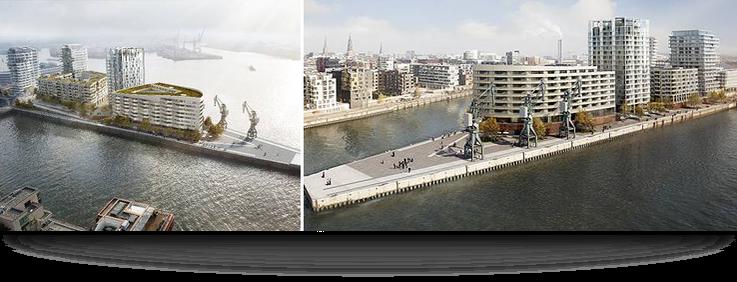 Foto: Wohnimmobilien - Am Strandkai, Hamburg / Copyright DEUTSCHE IMMOBILIEN Entwicklungs GmbH