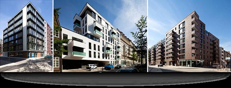 Foto: Wohnimmobilien - Wallhöfe, Hamburg / Copyright DEUTSCHE IMMOBILIEN Entwicklungs GmbH