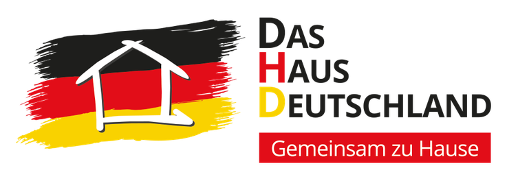 Das Haus Deutschland DHD Partei Logo Gemeinsam zuhause