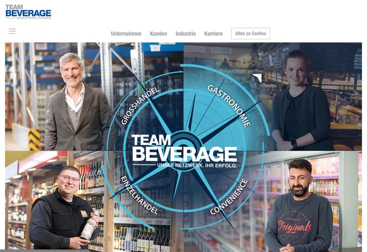 Homepage Team Beverage
