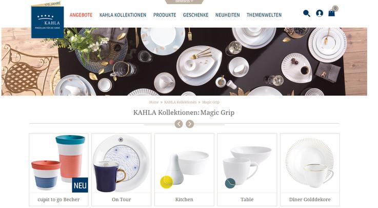 Homepage Kahla