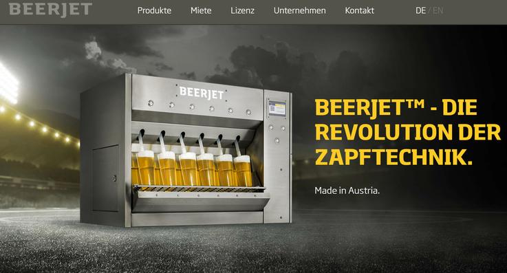 Homepage Beerjet