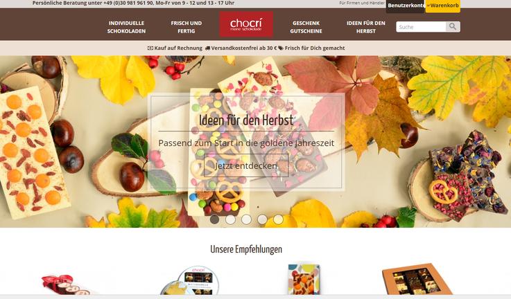 Chocri Homepage