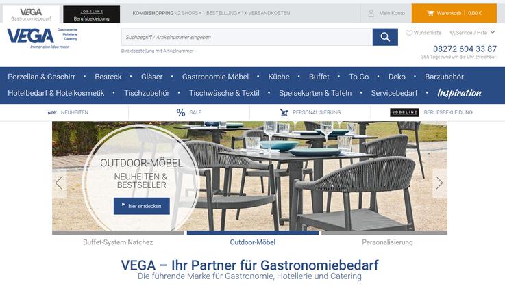Homepage Vega direct
