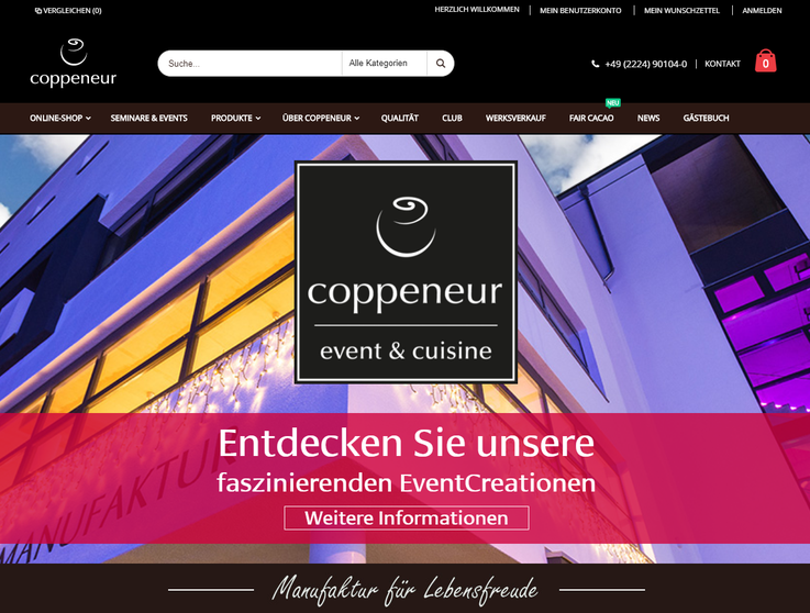 Coppeneur Homepage