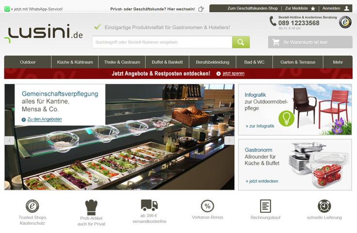 Homepage Lusini