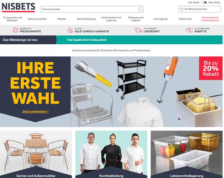 Homepage Pulsiva Gastronomiebedarf