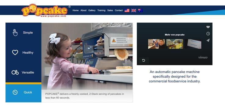 Homepage popcake