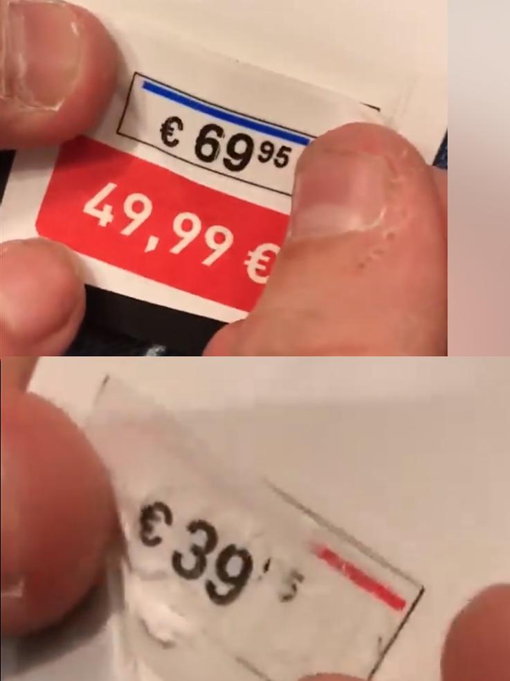 Betrug bei Preisauszeichnung