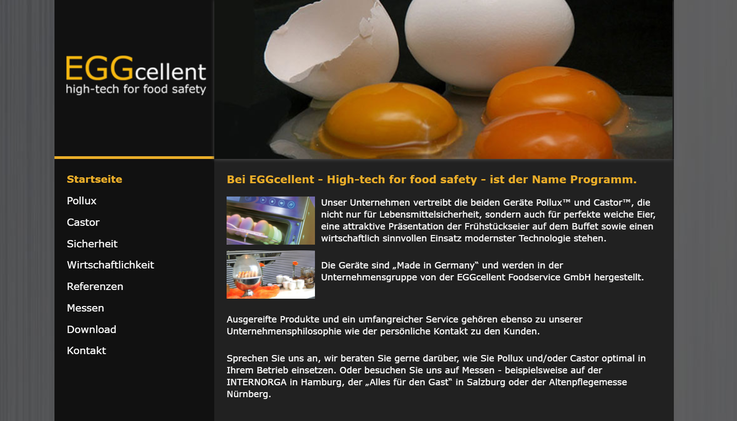 Homepage eggcellent