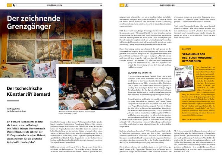"""Der zeichnende Grenzgänger - im ifa-Magazin """"An Bord"""" über das ifa-Entsendeprogramm: https://www.ifa.de/wp-content/uploads/2019/05/ifa_Magazin_An_Bord_Entsendeprogramm.pdf"""