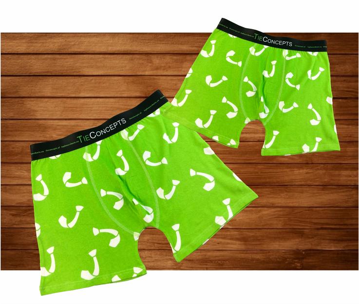 Boxershorts met all over logo laten maken en gepersonaliseerd elastiek