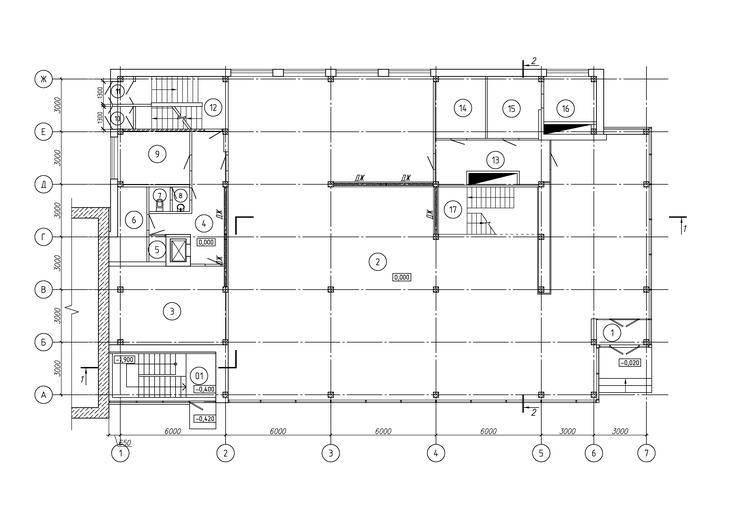 м-н Пигмалион, план 1-го этажа
