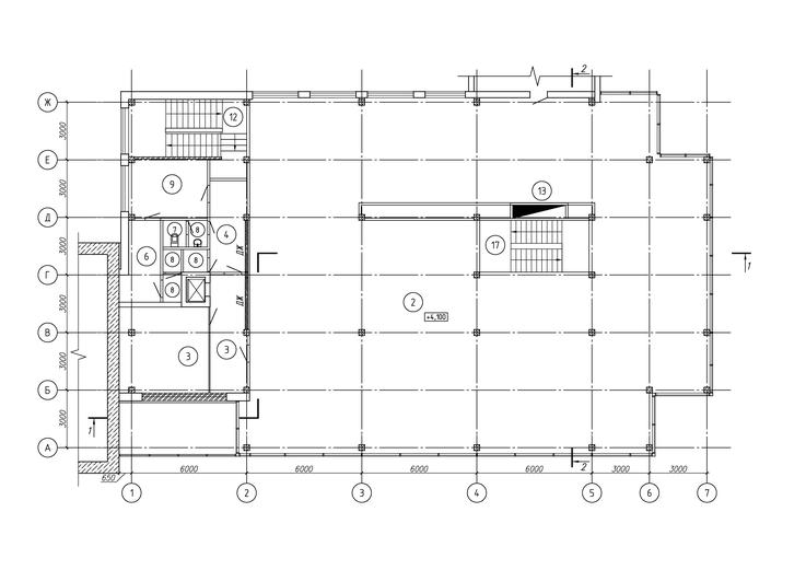 м-н Пигмалион, план 2-го этажа