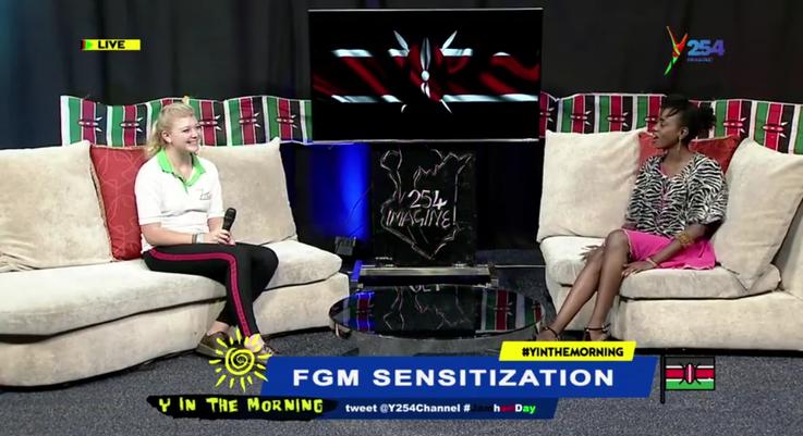 FGM Sensitization jetzt auch auf Youtube!- Antonia`s Interview beim Y254 Channel