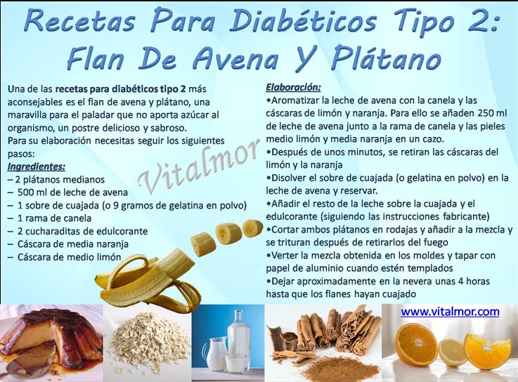 Recetas de postres para diabéticos