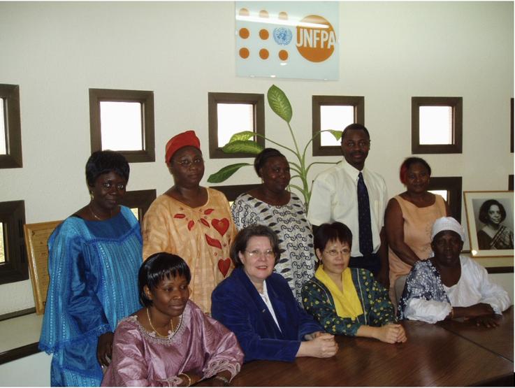 Meeting of BPW Ouagadougou and Director of UNFPA
