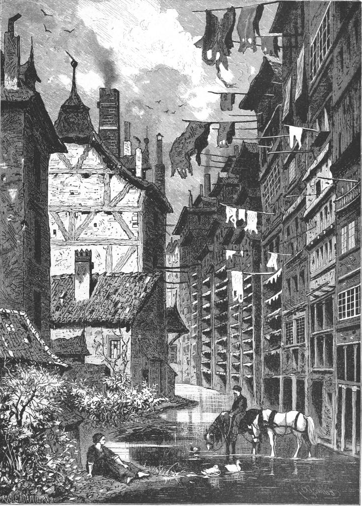 Tanner Street in Metz 1876