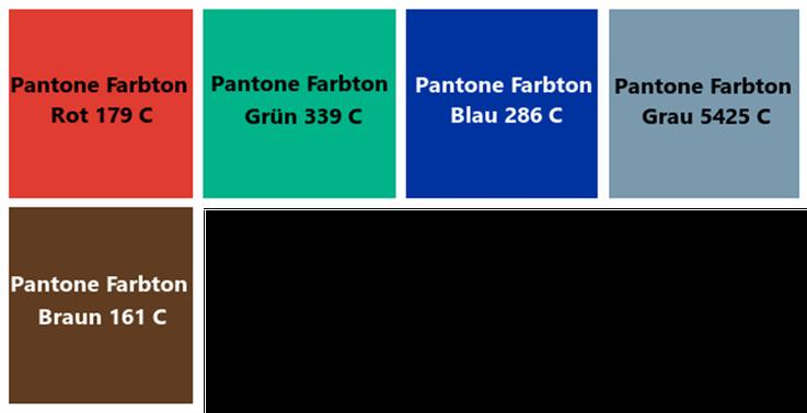 Thermotranferfolien in verschiedenen Farben Harz/Wachs