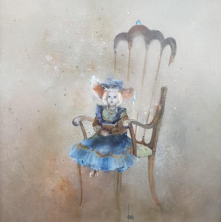 Bernard LOUEDIN, peinture, surréaliste, peintre surréaliste français, exposition, Lausanne, galerie, plateforme 10, tableaux, paysages suréalistes acrylique LOUEDIN