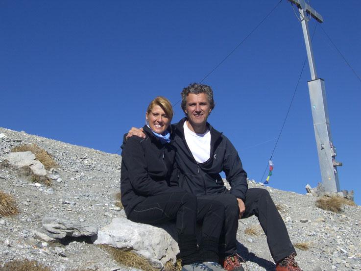 Katja & Manfred Götsch vom Alpinresort Hotel Reschnerhof in Reschen am Reschenpass - Vinschgau - Südtirol