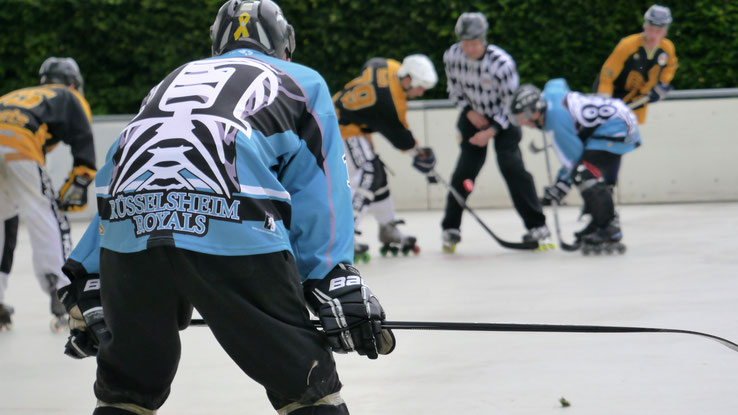 Die Rüsselsheim Royals müssen am kommenden Samstag gegen die Nordhessen Hornets ran. Foto: Swoboda