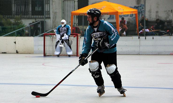 Janik Schwedler ist der Kapitän der Rüsselsheim Royals. Foto: Lisa